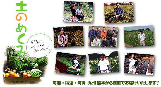 毎週・隔週・毎月 九州 熊本から産直でお届けいたします!